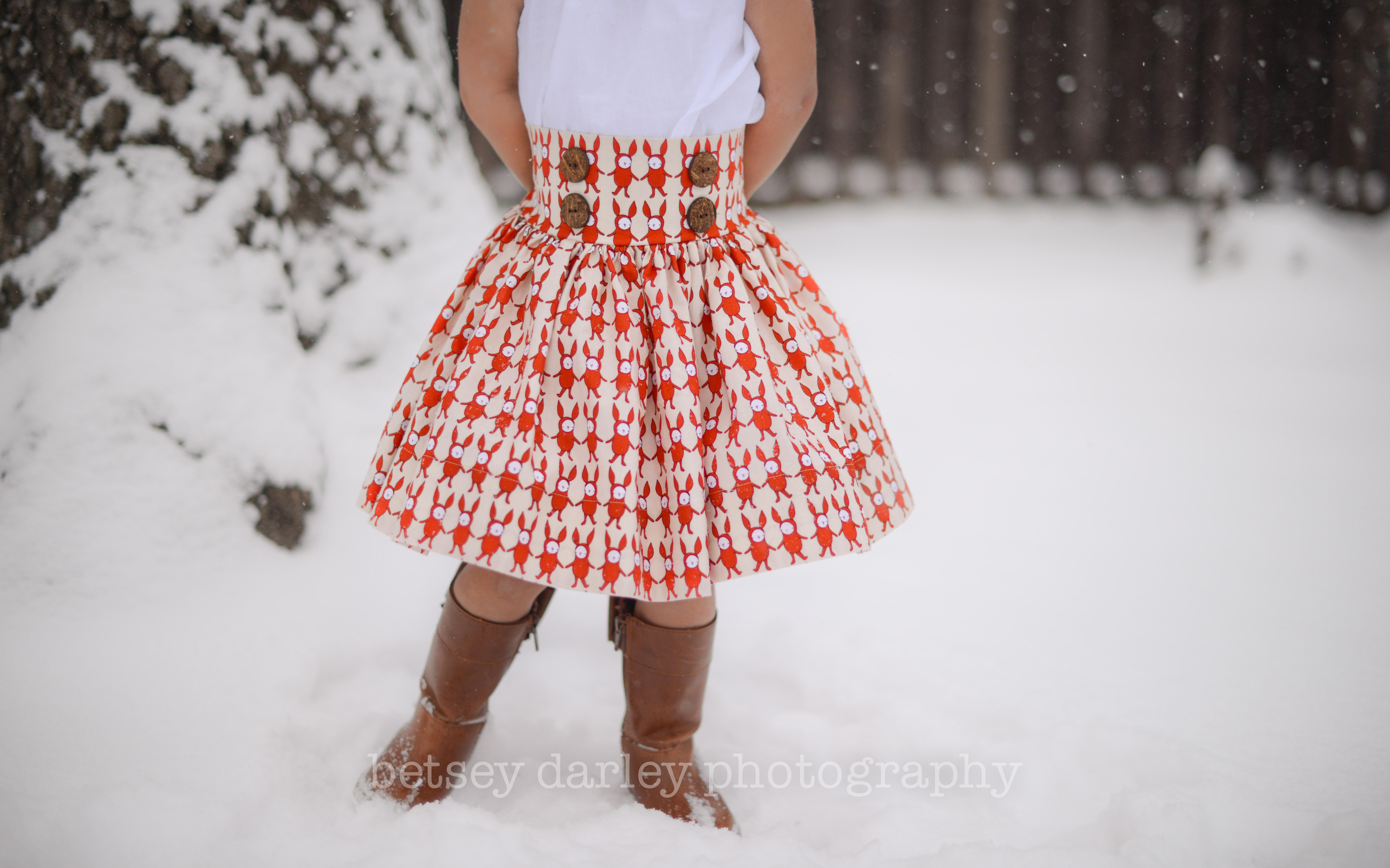 High Waist Skirt-