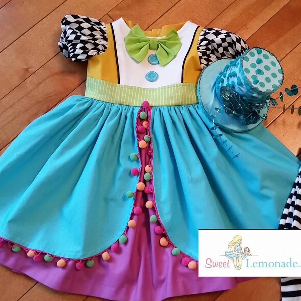 Mad Hatter inspired dress-