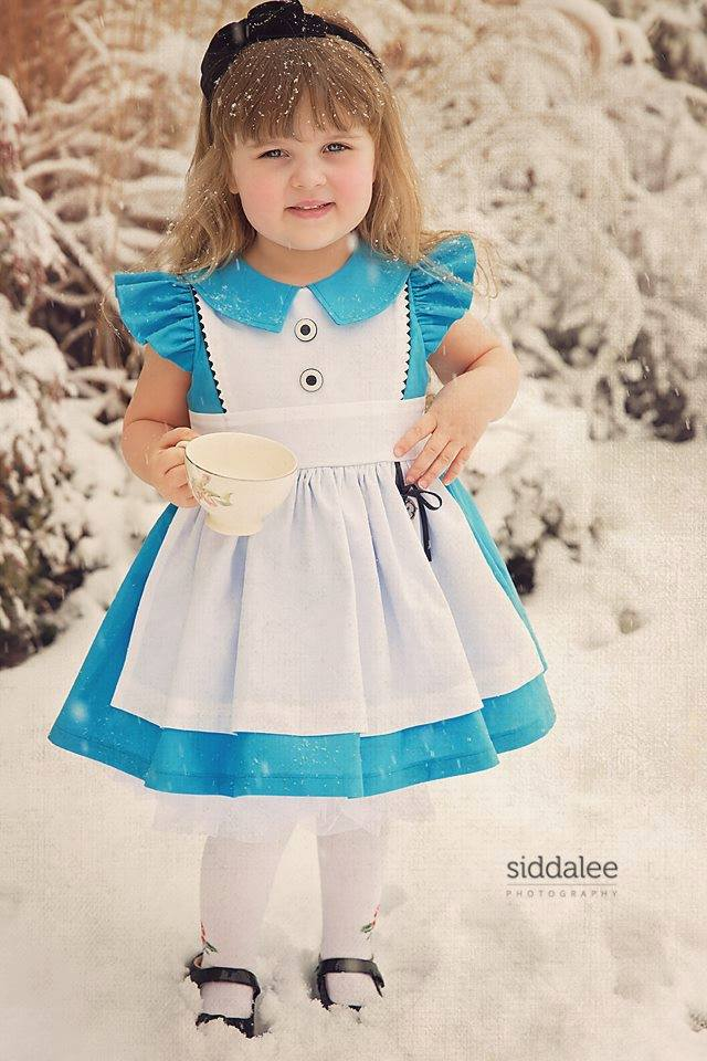 Alice inspired dress-